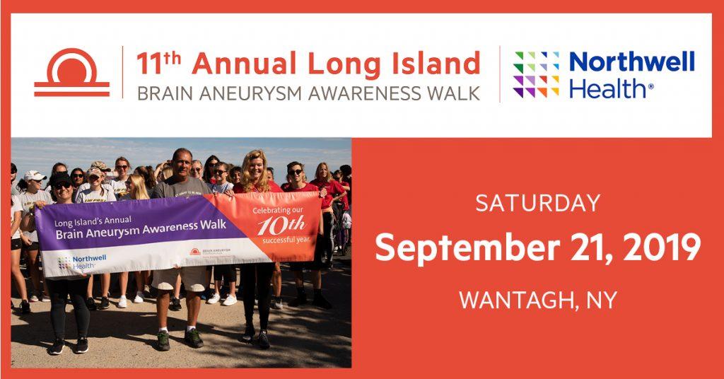 11th Annual Long Island Brain Aneurysm Awareness Walk